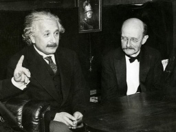 Planck and Einstein